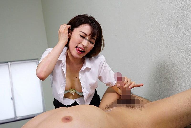 手コキする女教師