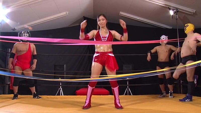 女子プロレスラー愛弓